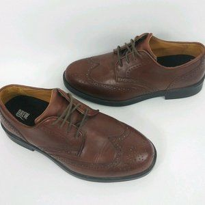 Drew Clayton Mens Size 11 M Brown Leather Wingtip